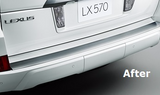 Genuine Lexus Japan 2016-2018 LX 570 Factory Painted Rear Bumper Step Guard