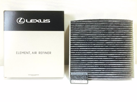 Genuine Lexus Japan 2016-2019 LX570 Premium Charcoal A/C Cabin Filter