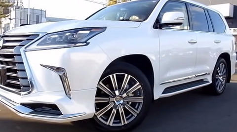 test review lexus lx suv driving road reviews