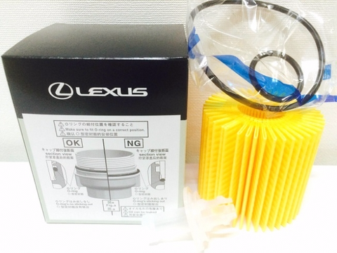 Genuine Lexus Japan 2017-2018 IS Oil Filter Element Kit