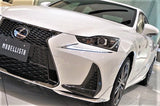 Genuine Lexus Japan 2017-2019 IS Factory Painted Front Spoiler Kit with Chrome Garnish