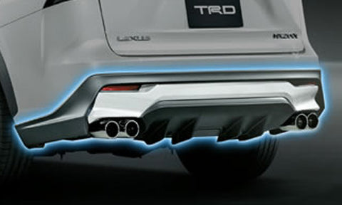TRD JAPAN 2015-2017 Lexus NX F SPORT Factory Painted Rear Diffuser Kit and Dual Exhaust System