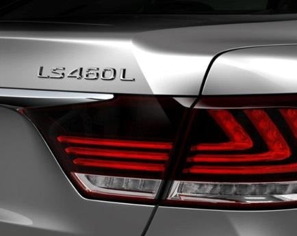 Genuine Lexus Japan 2007-2018 LS 460L Chrome Rear Emblem