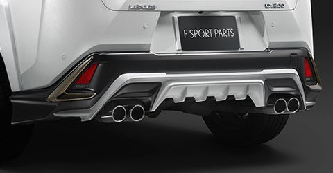 TRD JAPAN 2019-2021 Lexus UX F-Sport Factory Painted Rear Diffuser Kit and Dual Exhaust System