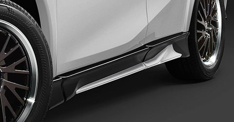 TRD JAPAN 2019-2021 Lexus UX F-Sport Factory Painted Side Skirts