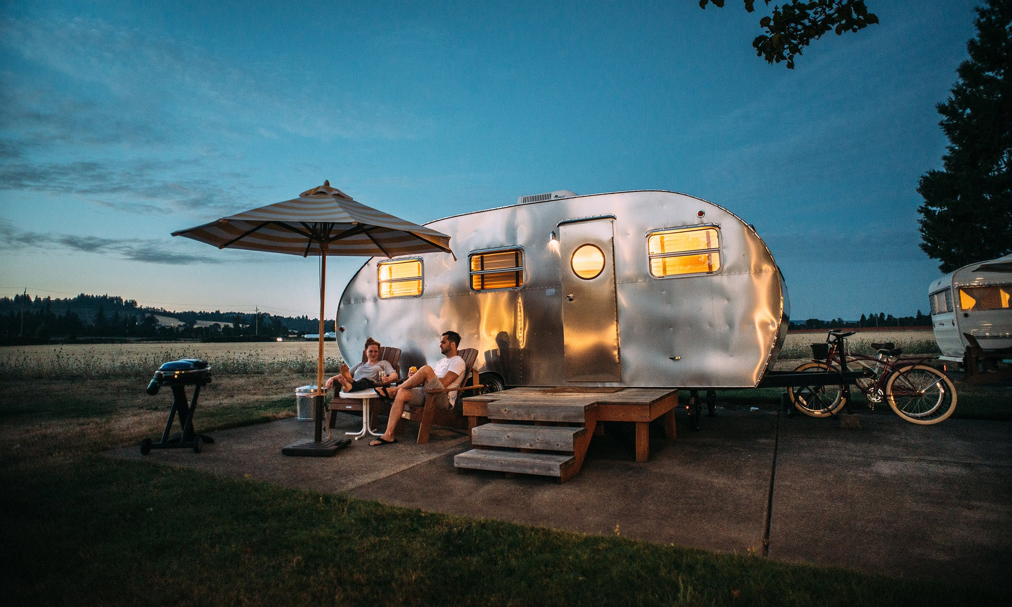 The Fire Pit Blog by Unique Camping + Marine Airstream RV Motorhome Camping In The Blue Ridge Mountains