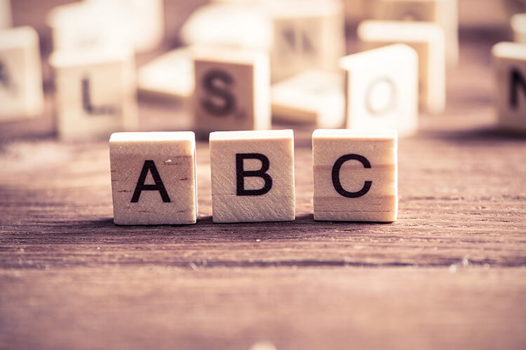 There is a solution. Read on. ABC blocks.
