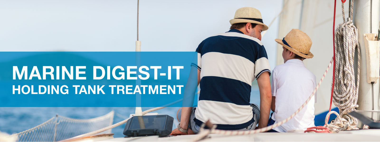 Marine Digest-It Holding Tank Treatment. Break down waste and eliminate galley and head odors. Unique Camping + Marine