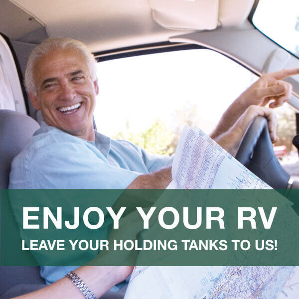 RV Digest-It Holding Tank treatment. Breakdown waste, reduces odors, prevent clogs. Unique camping + Marine
