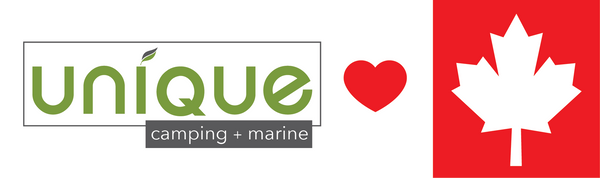 Unique Camping + Marine Logo Loves Canadian Customers