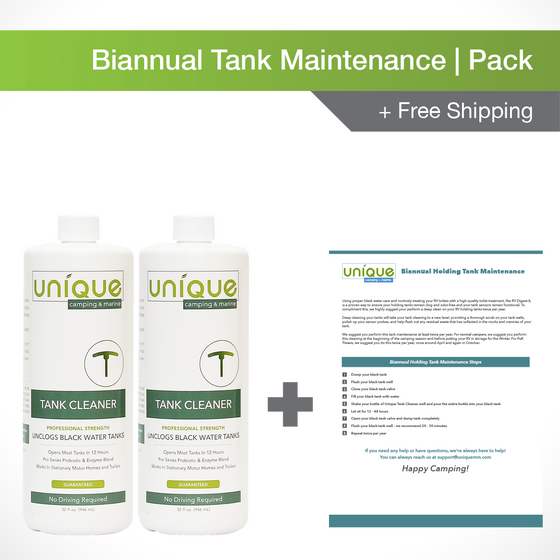 Biannual Tank Maintenance Pack + Free Shipping