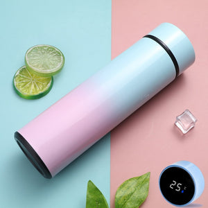 Custom logo Intelligent Digital Thermos Water Cup Touch Display Temperature Stainless Steel Creative Thermoses Coffee Mug Gifts