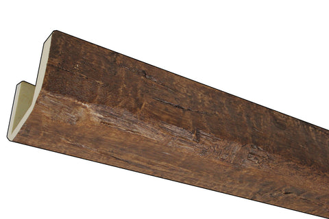 T 17 - Time Weathered Faux Wood Beam