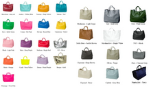 Load image into Gallery viewer, Hamptons Weekender Leather Beck Bag Availabile in Many Colors