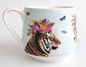 Haute House Jungle Mug by Greenbox Art