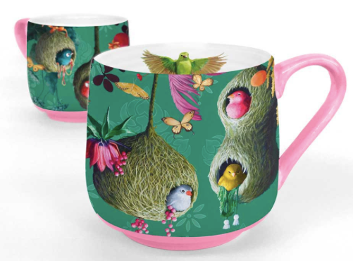 Sky Nests Mug by Greenbox Art