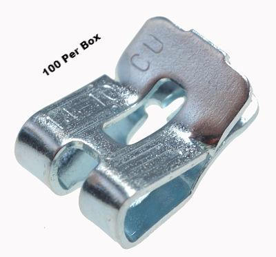 Zinc Box Grounding Clip