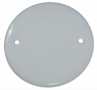 Blank-Up Ceiling Cover Plate.  Cover electrical wires or unused recessed can light openings in ceilings or walls