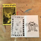 """Split Zine #2"" by Perry Shall and TJ McGlade"