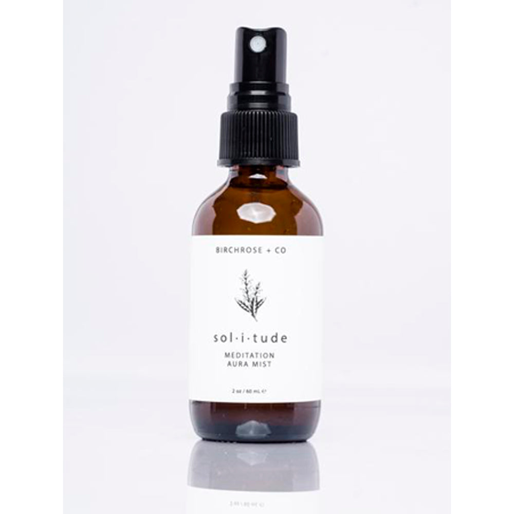 Solitude- Botanical Aura Grounding Mist - Basics and Organics