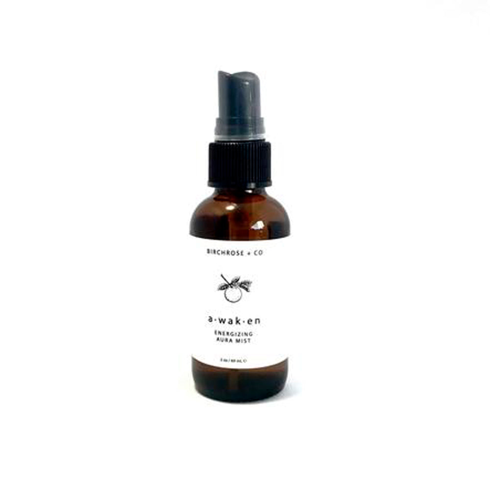 Awaken- Botanical Aura  Energizing Mist - Basics and Organics