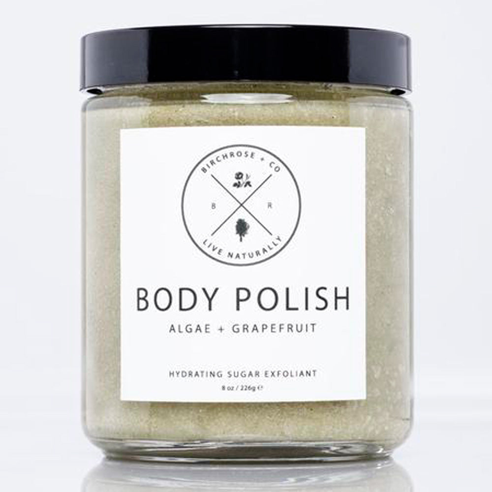 Hydrating Organic Body Polish - Algae + Grapefruit - Basics and Organics