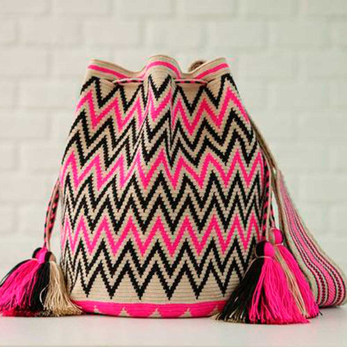Bautista Ethnic Handmade Colombian Wayuu Bag - Basics and Organics