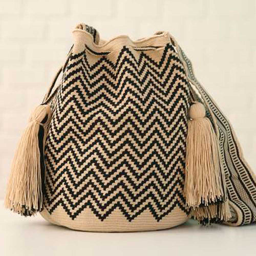 Chaman Ethnic Handmade Colombian Wayuu Bag - Basics and Organics