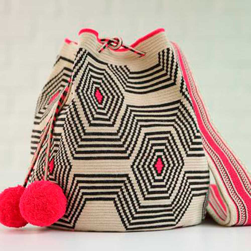 Chicle Ethnic Handmade Colombian Wayuu Bag - Basics and Organics