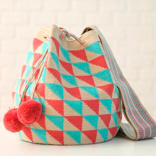 Drako Ethnic Handmade Colombian Wayuu Bag - Basics and Organics