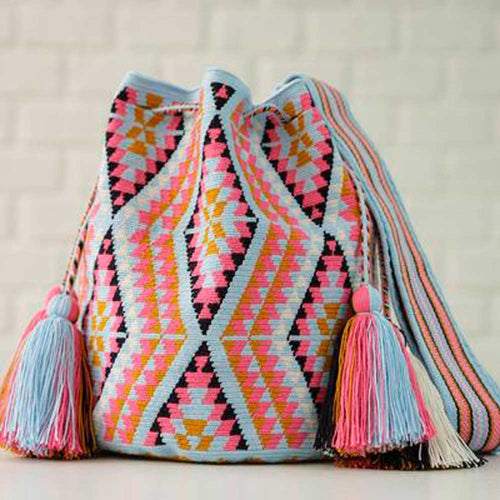 Ines Ethnic Handmade Colombian Wayuu Bag - Basics and Organics