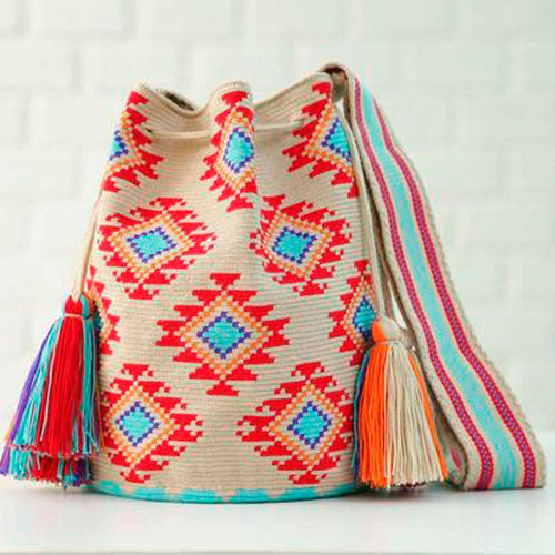 Lola Ethnic Handmade Colombian Wayuu Bag - Basics and Organics