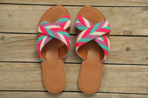 Tere Handmade Cross Sandals - Basics and Organics