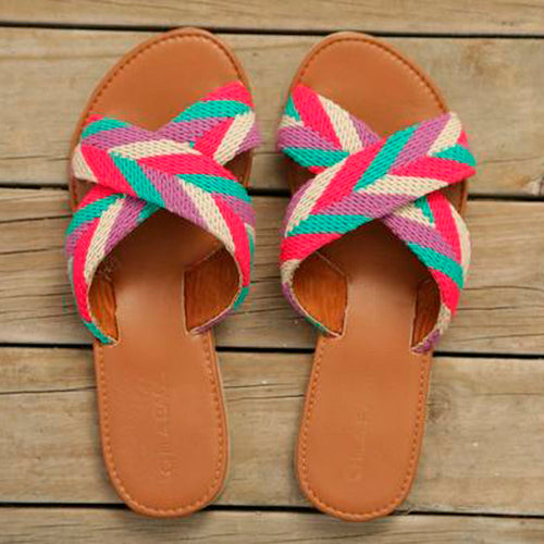 Tere Handmade A Cross Sandals - Basics and Organics
