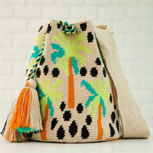Palma Ethnic Handmade Colombian Wayuu Bag - Basics and Organics