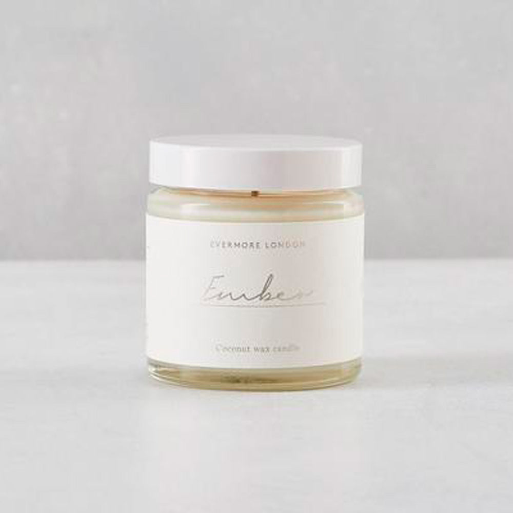 Ember Hand Poured Organic Coconut Wax  Candle - 120ml - Basics and Organics