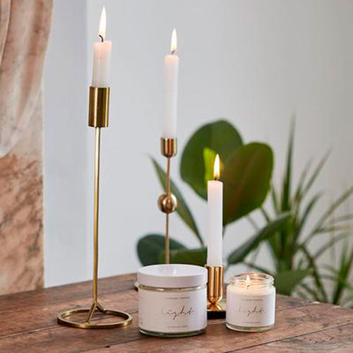 Light Organic Coconut Wax Candle - 250ml - Basics and Organics