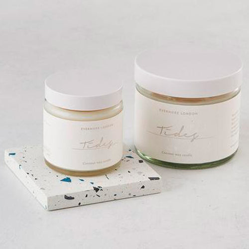 Tides Organic Coconut Wax Candle - 120ml - Basics and Organics