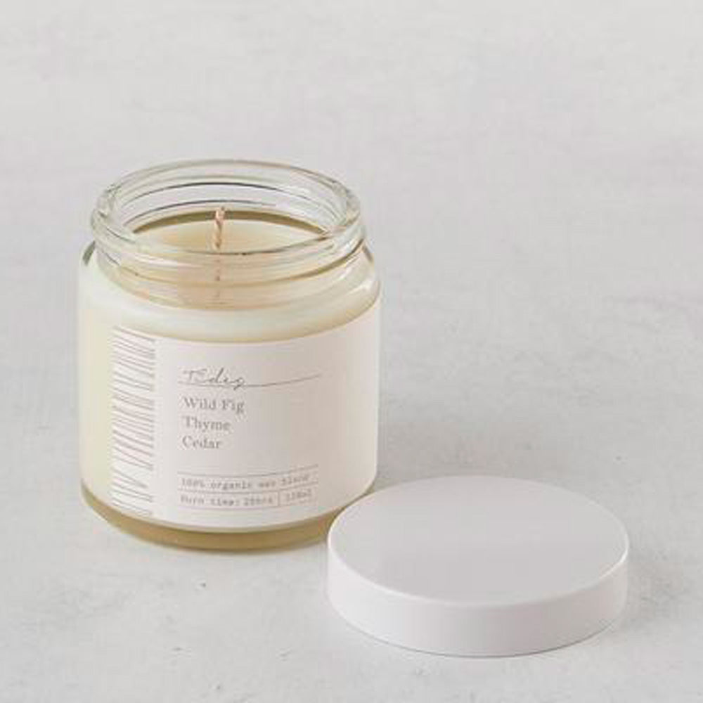 Tides Organic Coconut Wax Candle - 120ml – Basics and Organics