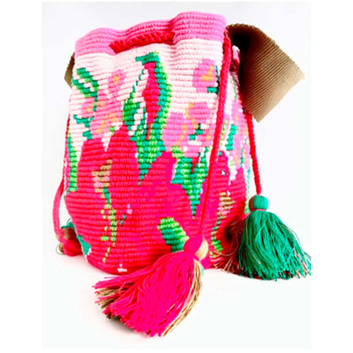 Gabo Ethnic Handmade Special Edition Flower Bag - Basics and Organics