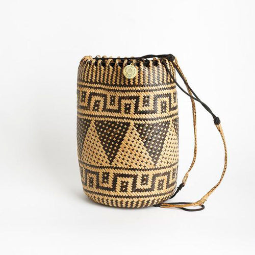 Anjat Ecofriendly Indonesian Handmade Rattan Bag - Basics and Organics
