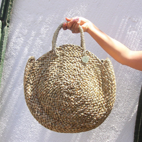 Bella Bag Hand-made in  Bali 100% plant based - Basics and Organics