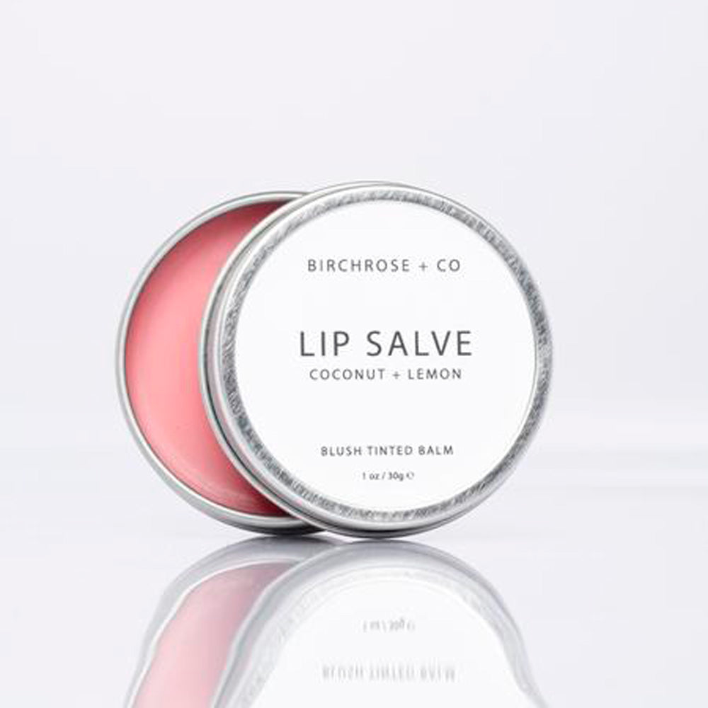 Ultra Hydrating Natural Lip Salve - Coconut + Lemon - Basics and Organics