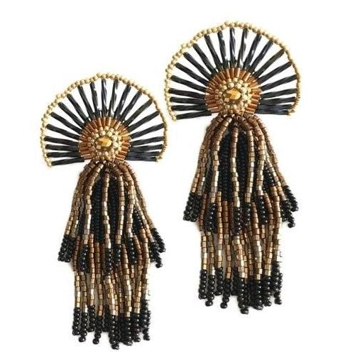 Vera Chaang Medusa Earrings - Basics and Organics