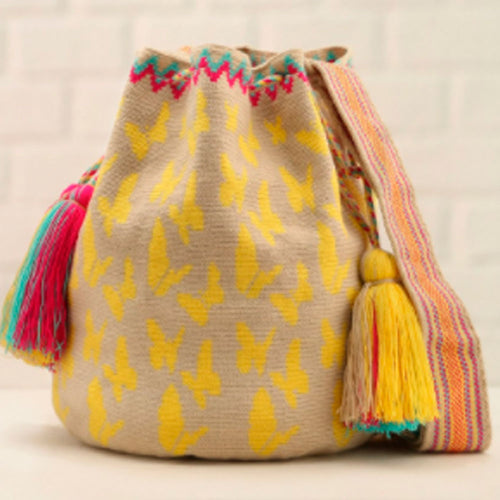 Macondo Ethnic Handmade Colombian Wayuu Bag - Basics and Organics
