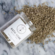Soothing Botanical Bath Soak - Sea Clay + Mint - Basics and Organics
