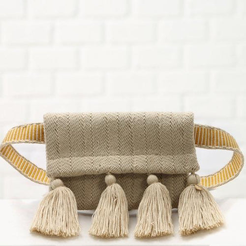 Ali handmade belt bag in beige