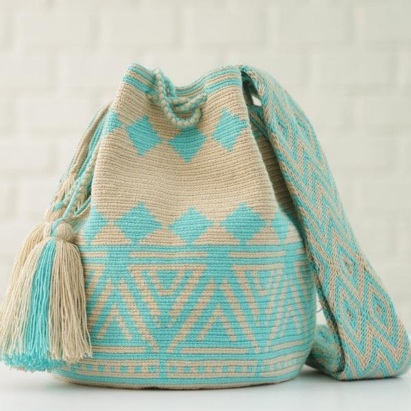 Chila handmade Pobaldo Bag in Blue