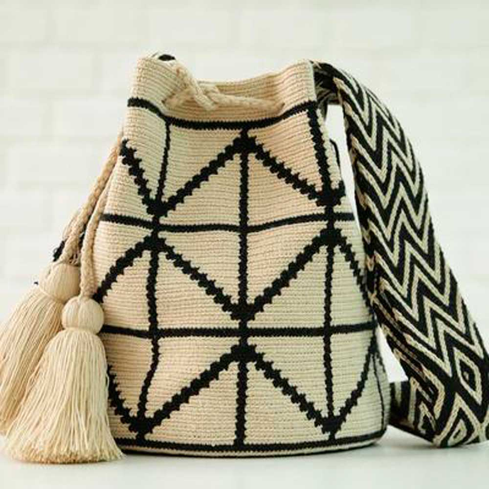 Cris Ethnic Handmade Colombian Bag - Basics and Organics
