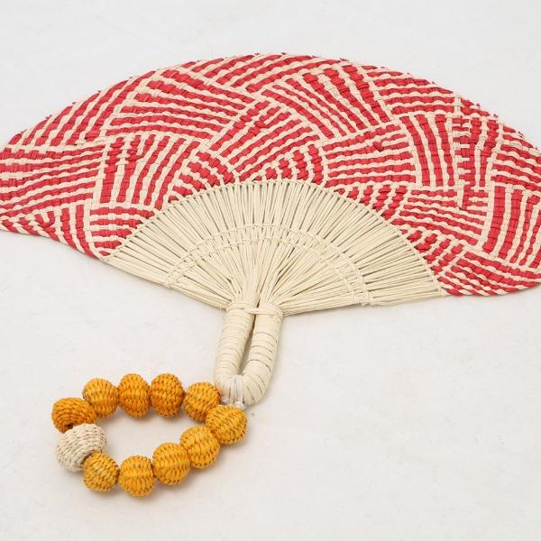 Handmade Cartagena Hand Fan - Basics and Organics